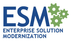 ESM - Enterprise Solution Modernization Program Logo