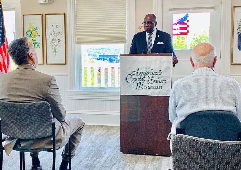 NCUA Chairman Rodney E. Hood Remarks - America's Credit Union Museum, Manchester, NH