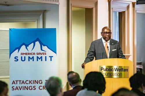 The Honorable Rodney E. Hood - The America Saves Summit